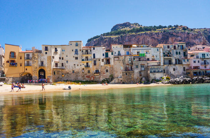 Full-Day Tour of Cefalu, Santo Stefano di Camastra and Corleone from Palermo