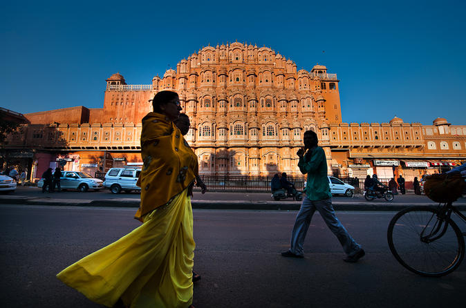 1-Day Golden Triangle Tour by Car Agra and Jaipur from Delhi
