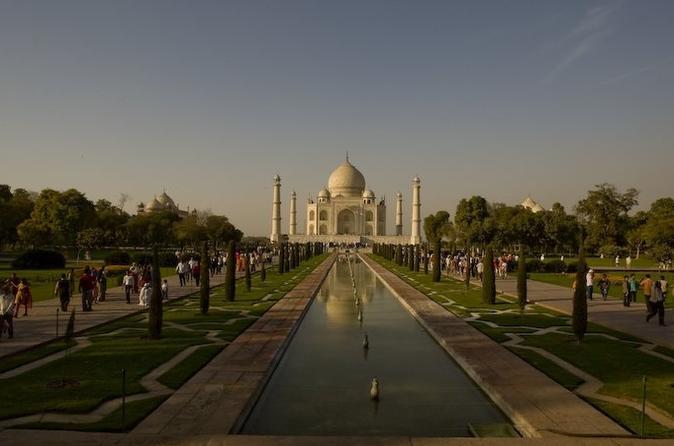 Agra Full-Day Tour Taj Mahal, Agra Fort with Revisit Taj Mahal at Full-Moonlight