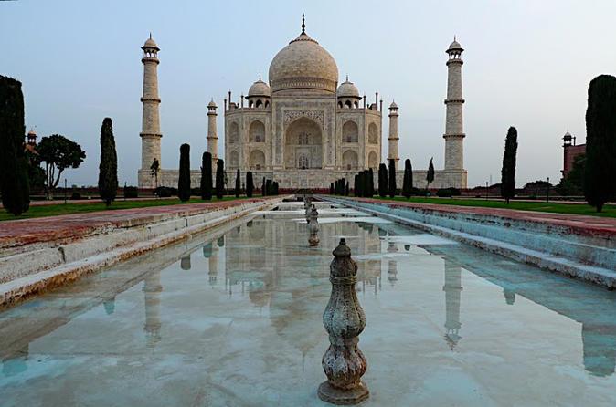 Excursão particular: city tour de dia inteiro na cidade de Agra, incluindo Taj Mahal e Forte de Agra