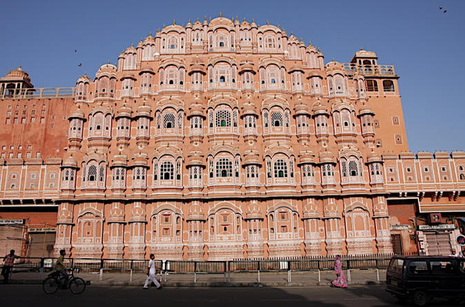 Jaipur Full-Day Tour visit Hawa Mahal, Amber Fort, City Palace and Observatory