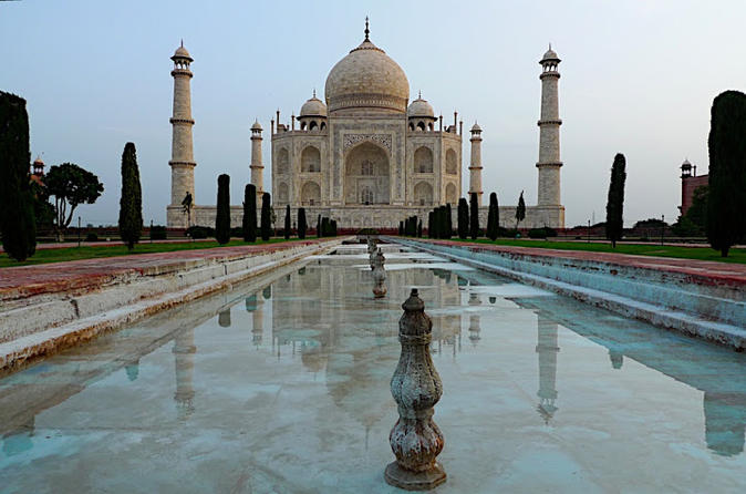 Taj mahal and agra private day trip from delhi by train in new delhi 215024