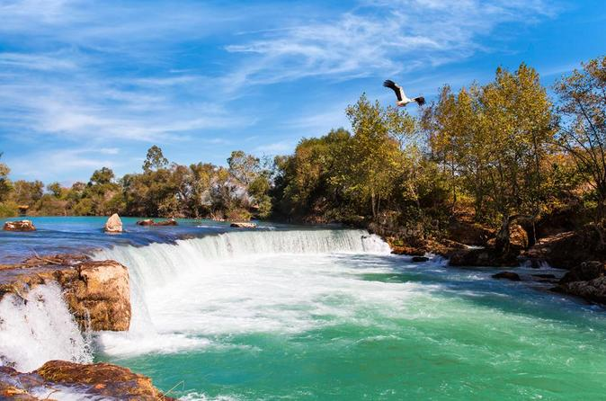 All Inclusive Boat Trip With Manavgat Waterfalls And Bazaar Visit