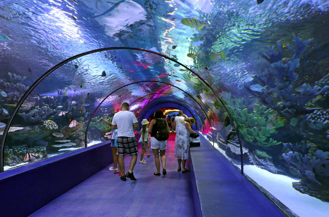 Antalya city tour with duden waterfall and antalya aquarium visit in belek 329317