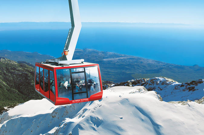 Cable Car Ride to the Top of Tahtali Mountain