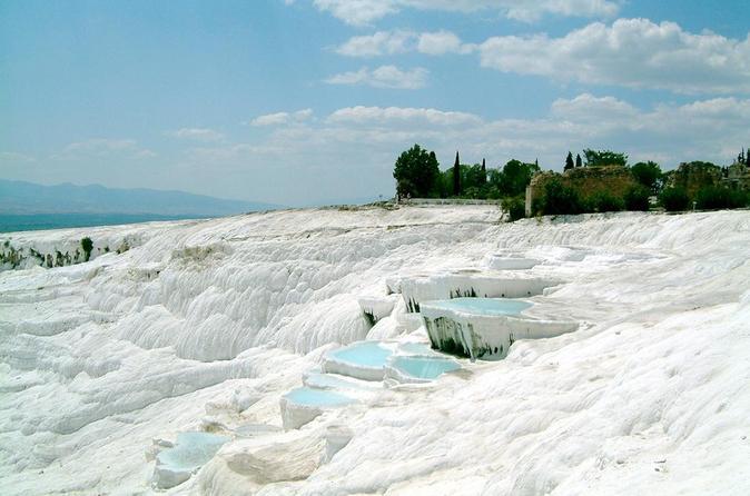 Pamukkale hot springs and hierapolis ancient city in belek belediyesi 301050