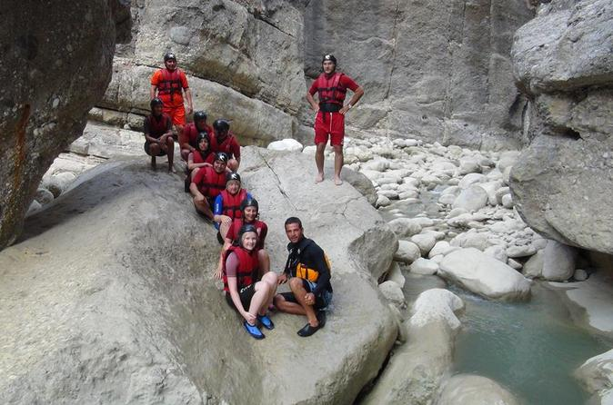 Rafting and canyoning tour from side in side 306406