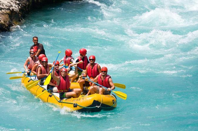 White water rafting adventure with lunch from belek in belek 321281