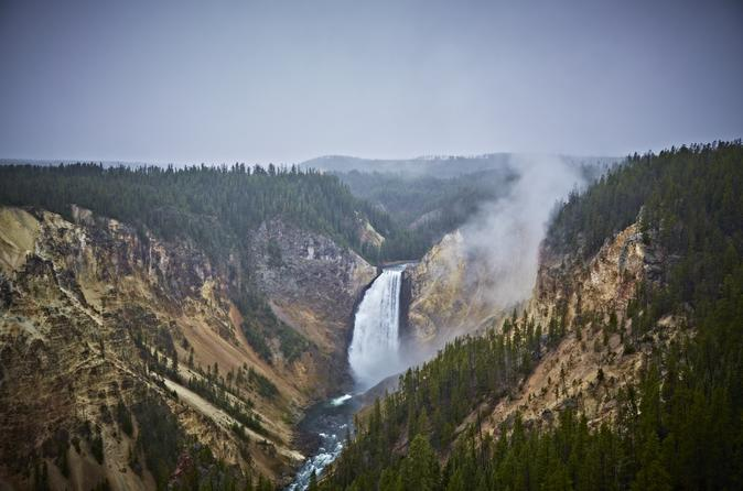 Grand canyon of yellowstone trail hike in jackson 334571
