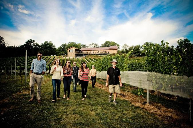 Vip private wine tour with lunch from harrisburg in harrisburg 207831