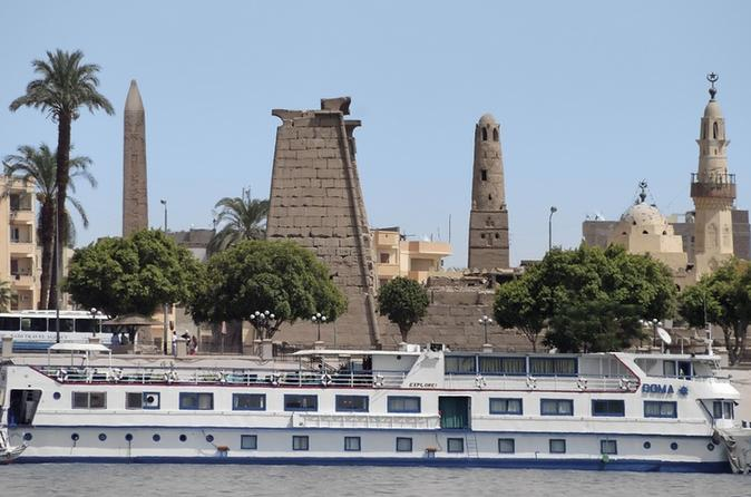 7 Night 8 Day Nile Cruise Round Trip from Luxor
