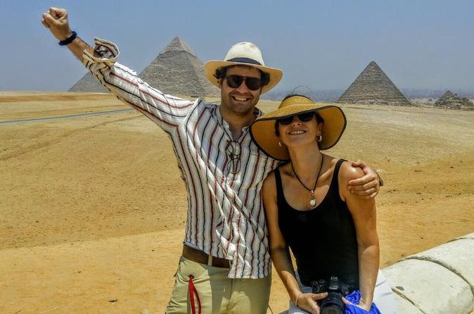 Excursão de 7 dias pelo Cairo e Cruzeiro pelo Nilo com voos domésticos