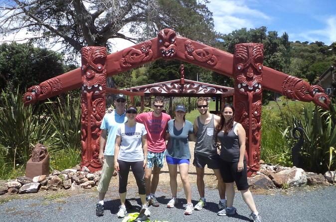 Walking and Biking Tour on Waiheke Island