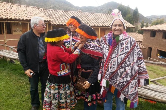 Excursão de dia inteiro para grupos pequeno ao Vale Sagrado, incluindo as ruínas de Pisac, saindo de Cusco