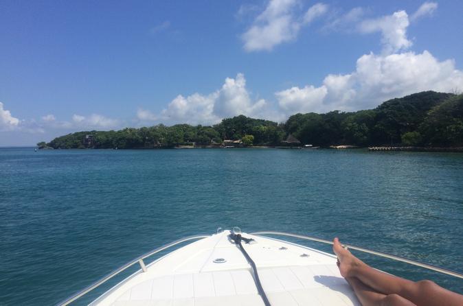 Aluguel de barco o dia inteiro em Cartagena