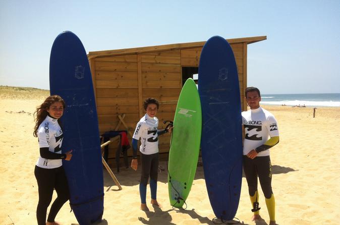 2 hour surf lesson in hossegor in hossegor 203768