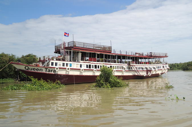 Kompong Phluk Two Village Tour and Longtail Cruise from Siem Riep""