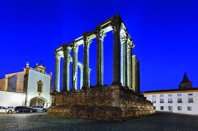 Excursão particular de dia inteiro em Évora saindo de Lisboa com almoço