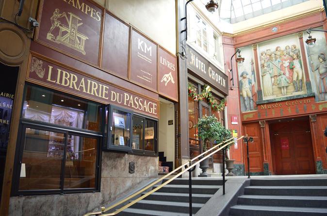 Paris 2-Hour Secret Covered Passages Private Tour