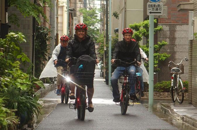 Electric-Powered Biking Tour: Asakusa, Roppongi, Akihabara, and Imperial Palace