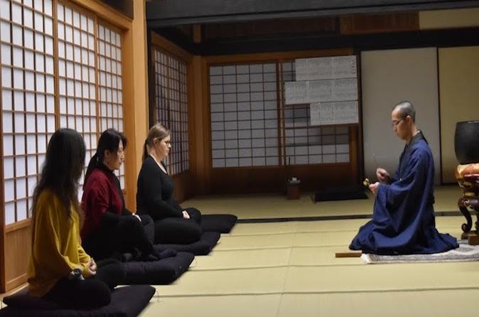 Experience Zen meditation at a Japanese Temple in Fukuoka