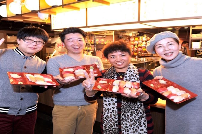 Let's Become a Sushi Chef -Sushi Making Experience with Tempura Lunch-