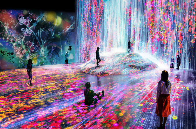 MORI Building DIGITAL ART MUSEUM:teamLab Borderless Ticket and Transfer