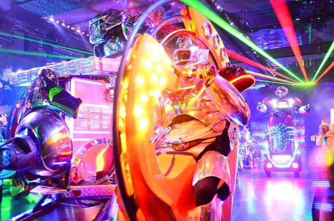 Tokyo Robot Cabaret Show, incluindo jantar no restaurante temático Alice in Wonderland