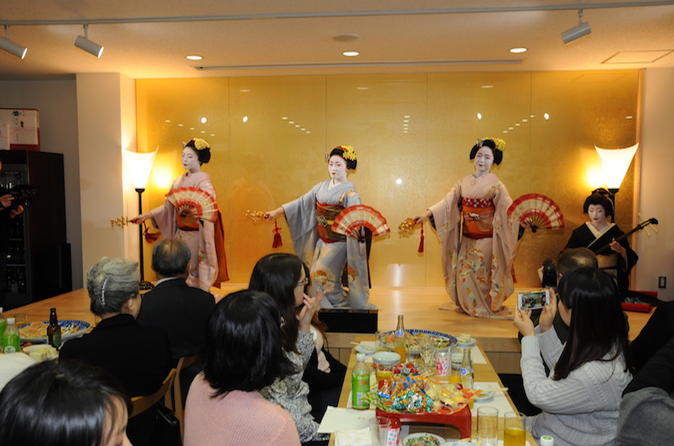 Traditional maiko performance in kyoto in kyoto 429463