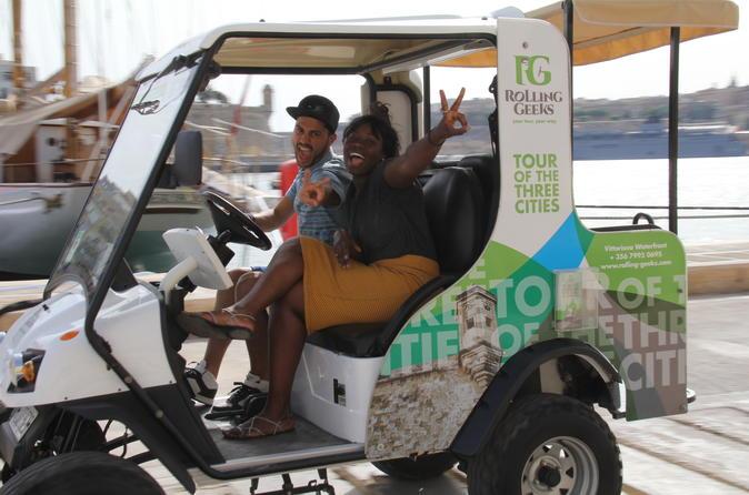 Explore malta in a self drive electric car tour in birgu 209303