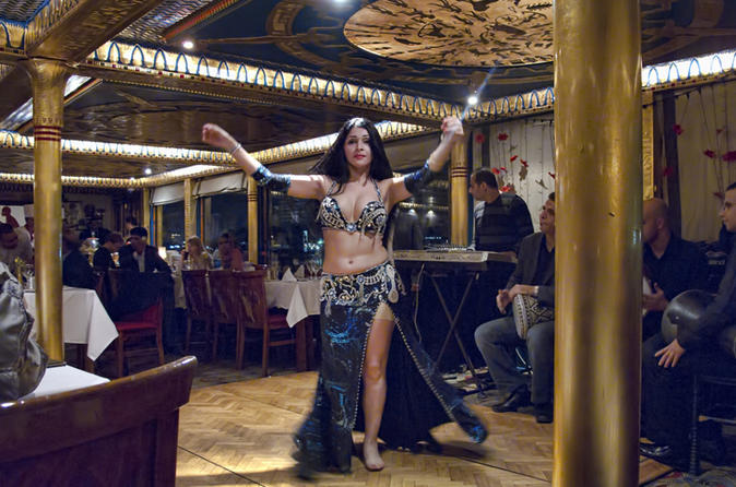 Dinner Cruise on the Nile with Middle Eastern Show in Cairo