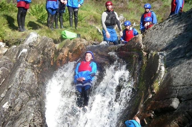 Canyoning experience in the scottish highlands in fort william 246199