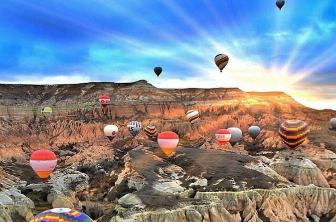 Cappadocia balloon tours with breakfast and champagne in urgup 207110