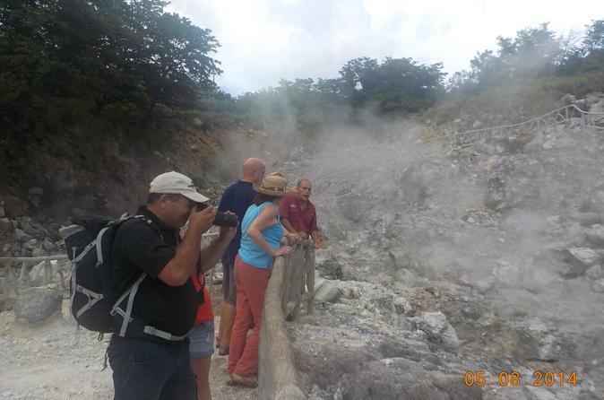 Las Hornillas Combo Tour at Miravalles Volcano