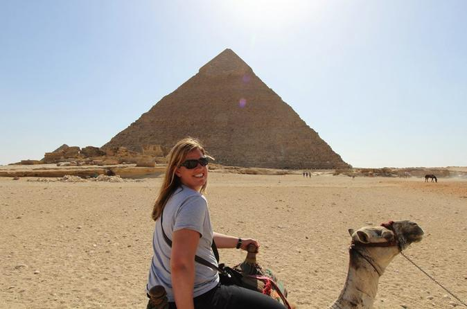 3-Day Private Sightseeing Tour of the Pyramids, Cairo and Alexandria from Cairo