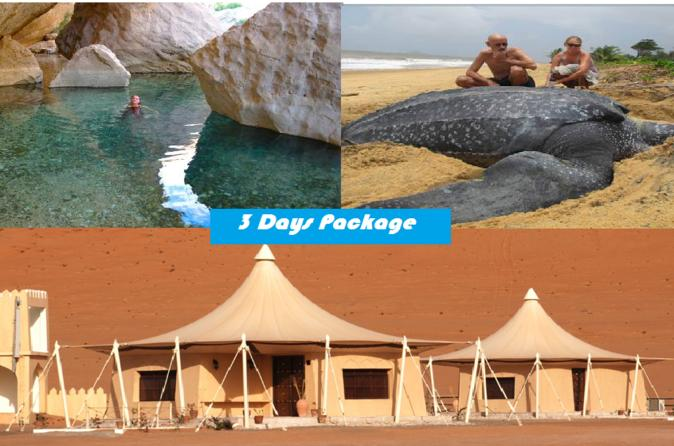 3 Day Package TOUR JASMIN