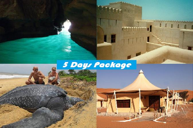 5 Days Package TOUR DINA