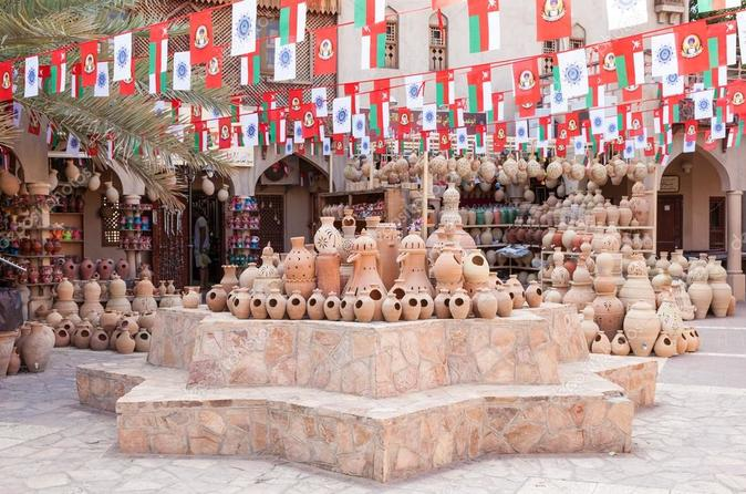 Nizwa , Bahla and Jabrin fort for cultural tours