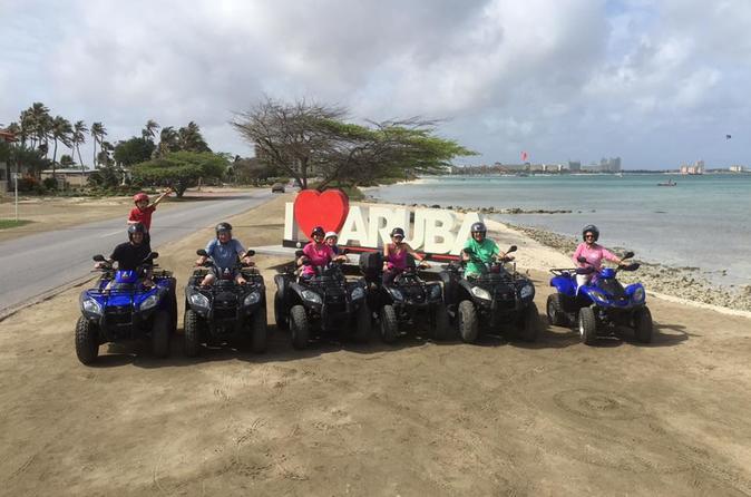 Private Personalized ATV Tour: Get To Know Aruba