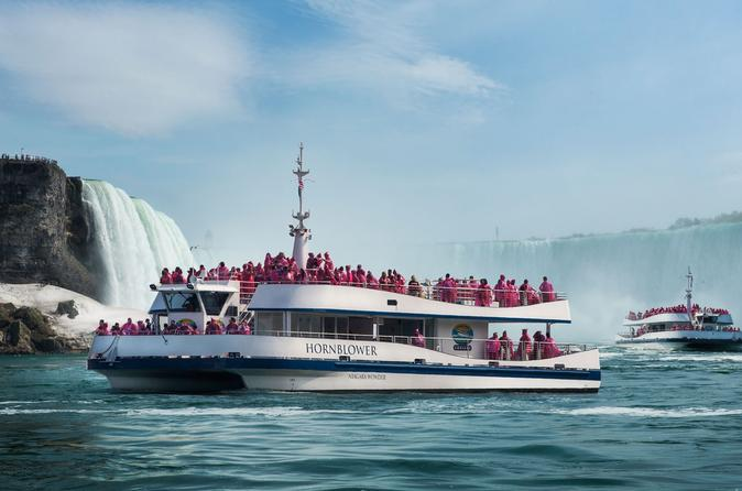 Small-Group Niagara Falls Sightseeing Tour from Toronto with Hornblower Boat