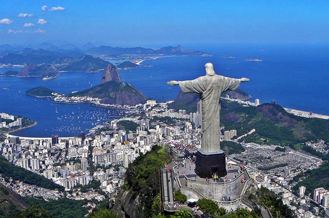 Rio de Janeiro in One Day City Tour Including Lunch