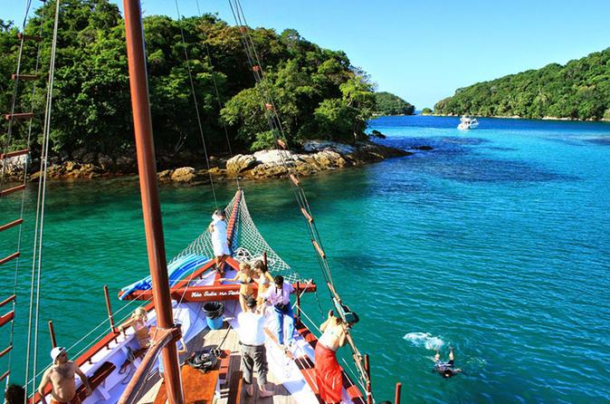 Viagem diurna para Ilha Grande saindo do Rio de Janeiro