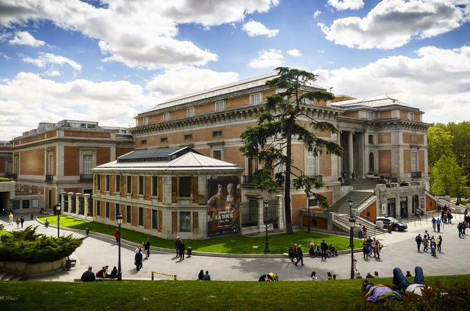 Prado Museum Guided Tour in Selected Language tickets included