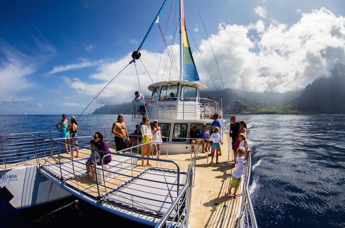 Niihau and Na Pali Coast Kauai Snorkel Cruise with Optional Scuba