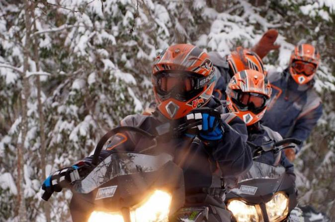 Lapland Snowmobile Safari from Rovaniemi