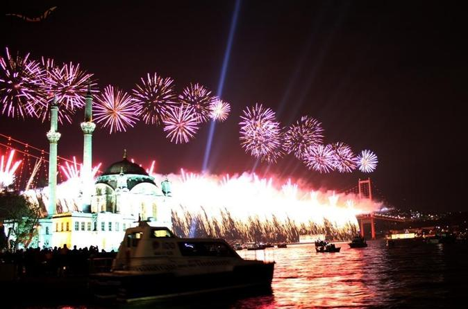 New Year Eve Party on the Bosphorus  in Istanbul