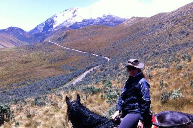 Overnight Camping Including Horse Ride at Cayambe Paramo