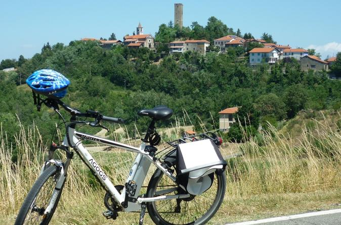 E bike guided tour with lunch in acqui terme 259573