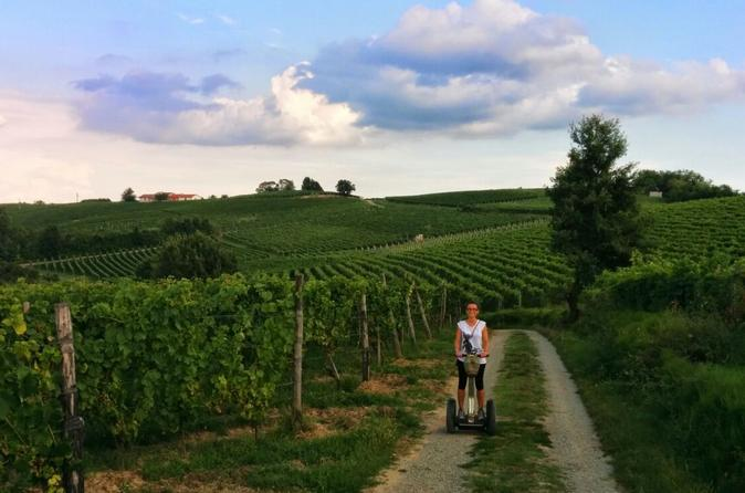 Segway tour monferrato hills and tastings in canelli 231679
