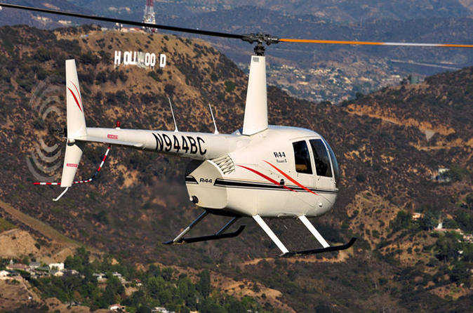 Hooray for Hollywood Helicopter Tour